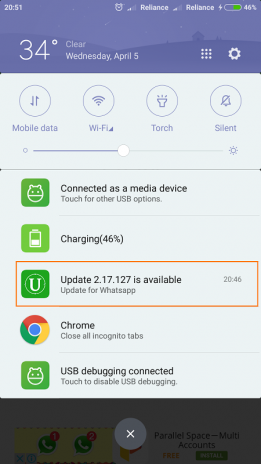 Update for Whatsapp 1 10 Download APK for Android - Aptoide