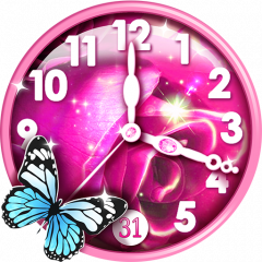 Pink Clock Live Wallpaper 26 Download Apk For Android Aptoide