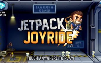 Jetpack Joyride (Mod) Screenshot