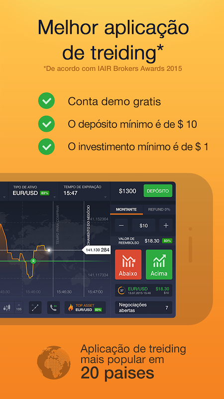 IQ Option – Online Trading Platform screenshot 1
