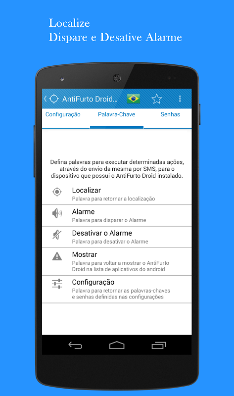 Este programa de SMS rastreamento salva todas as mensagens SMS e MMS nos dispositivos Android