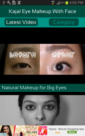 Kajal Eye Makeup With Face 6 6 Download APK for Android