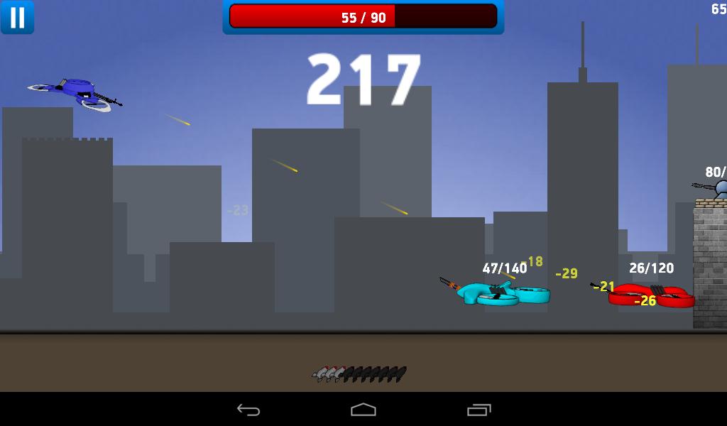 War Droids screenshot 1