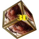 Sexy 3D Live Cube Wallpaper
