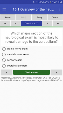 Anatomy & Physiology Textbook , MCQ & Test Bank 2.1.1 Download APK ...