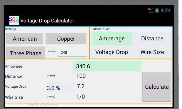 Voltage drop calculator 2071 download apk for android aptoide voltage drop calculator screenshot 1 voltage drop calculator screenshot 2 greentooth Gallery