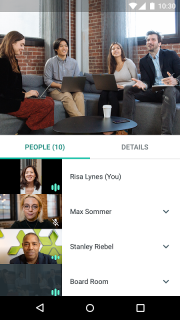 Hangouts Meet screenshot 3