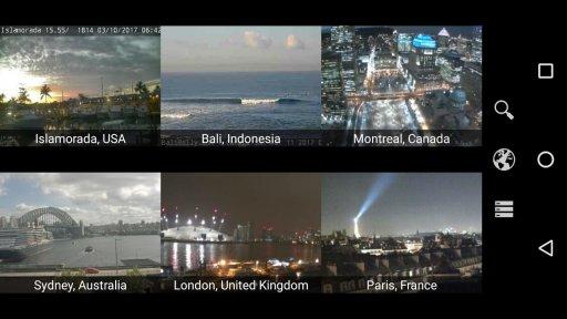 Earth Online: Live World Webcams & Cameras screenshot 1