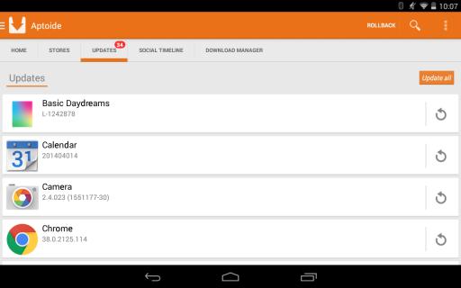 Aptoide screenshot 2