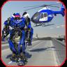 Police War Robot Superhero Icon