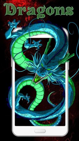 Golden Dragon Live Wallpaper Screenshot 1 2