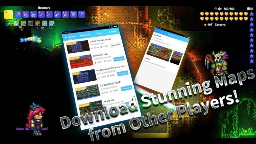 Launcher for terraria mods 104689 download apk for android aptoide launcher for terraria mods screenshot 3 gumiabroncs Gallery