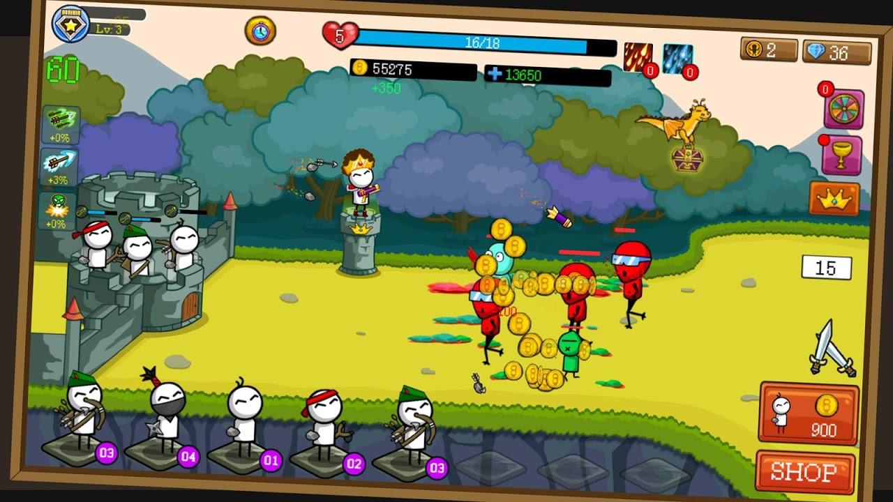 Merge Archer : Tower Defense screenshot 1