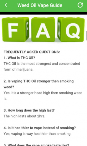 Weed Oil Vape Guide 1 1 Download APK for Android - Aptoide