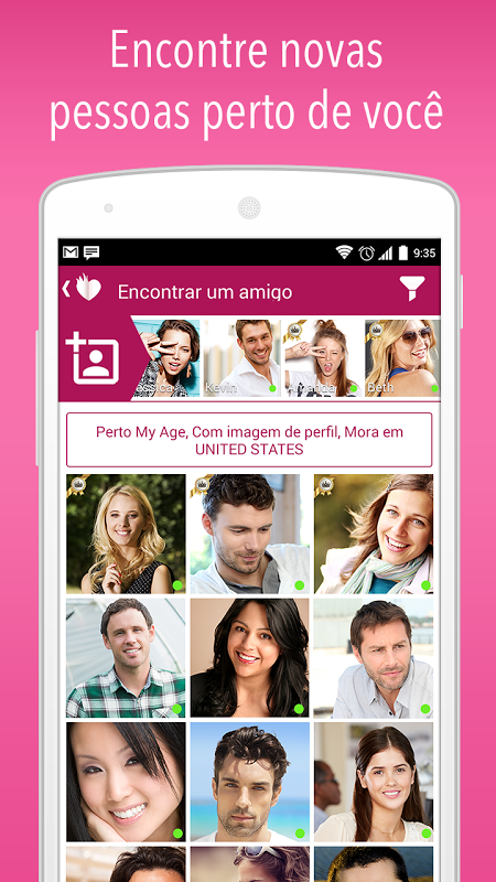 Waplog Rede Social: Chat, Encontro e Namoro screenshot 1