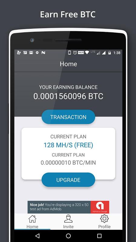 Bitcoin Miner - Earn Free BTC screenshot 1