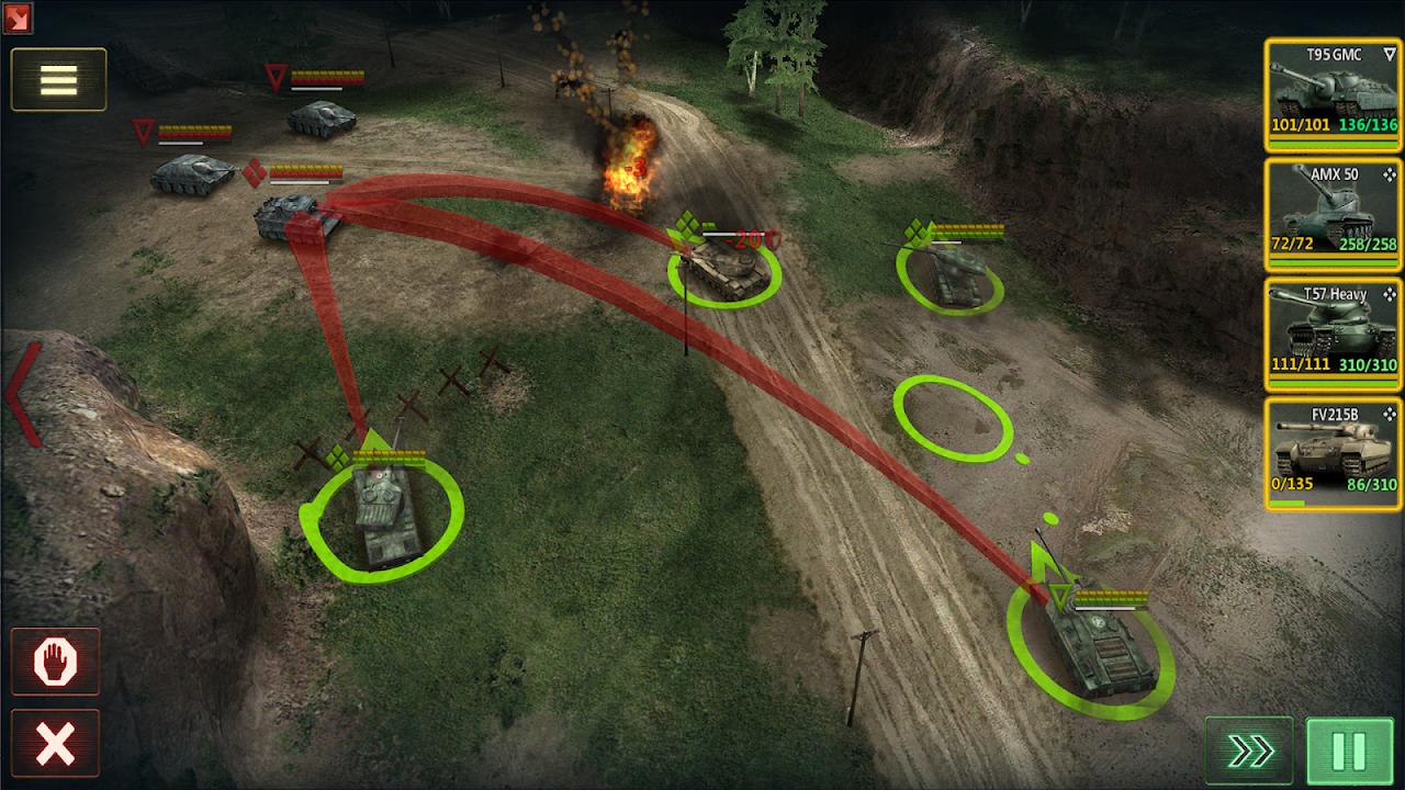 Armor Age: Tank Wars — WW2 Platoon Battle Tactics screenshot 1