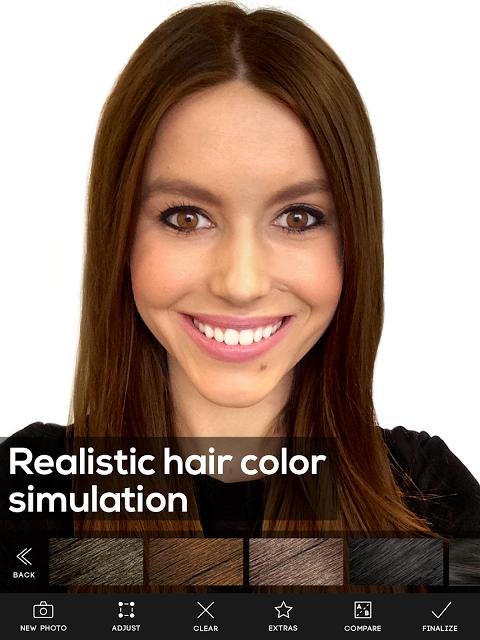 Hair Color Studio Premium screenshot 2