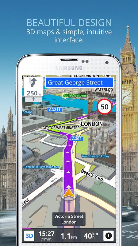 Sygic: GPS Navigation screenshot 2