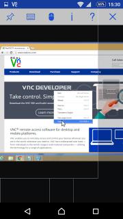 VNC Viewer screenshot 9