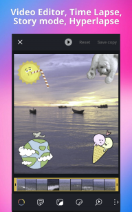 Pixtica 📷 Camera + Photo and Video Editor screenshot 1