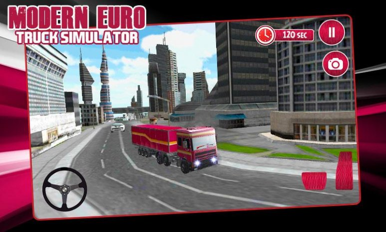 Modern Euro Truck Simulator 3D 1 2 Download APK for Android