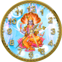 God Vishnu Clock LWP