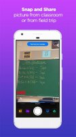 Snap Homework App Screen