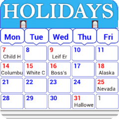 Holiday Calendar Free 3 0 Download Apk For Android Aptoide