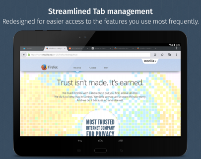 Firefox for Android Beta screenshot 10