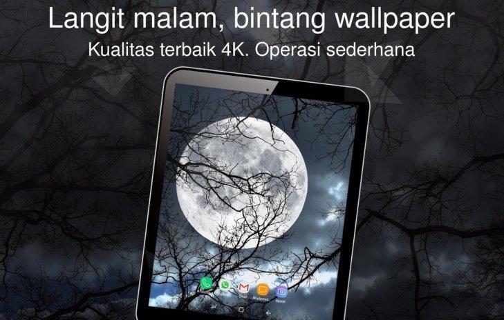 Langit Malam Bintang Wallpaper 4k 1 0 10 Unduh Apk Untuk Android