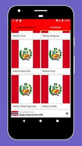 Radio Peru + Radio FM Peru - Internet Radio Online 1 9 2