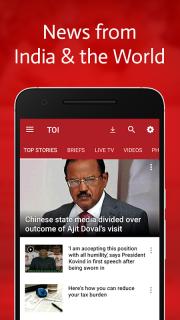 The Times of India News screenshot 1