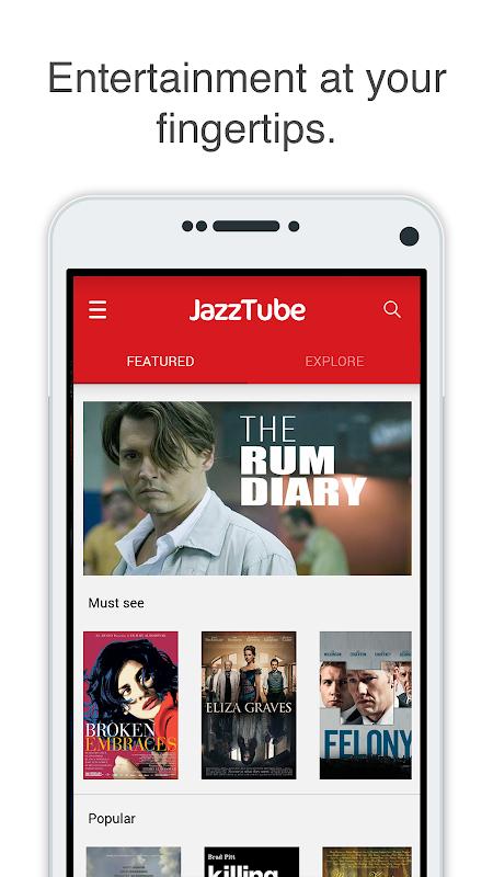 JazzTube screenshot 2