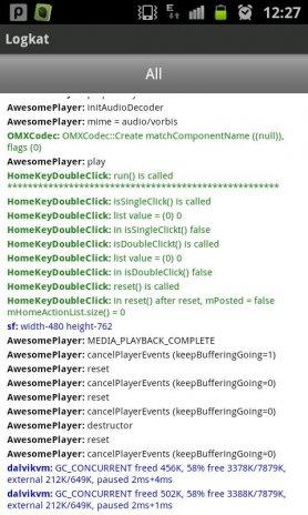 Logkat (logcat reader) 1 2 Download APK for Android - Aptoide