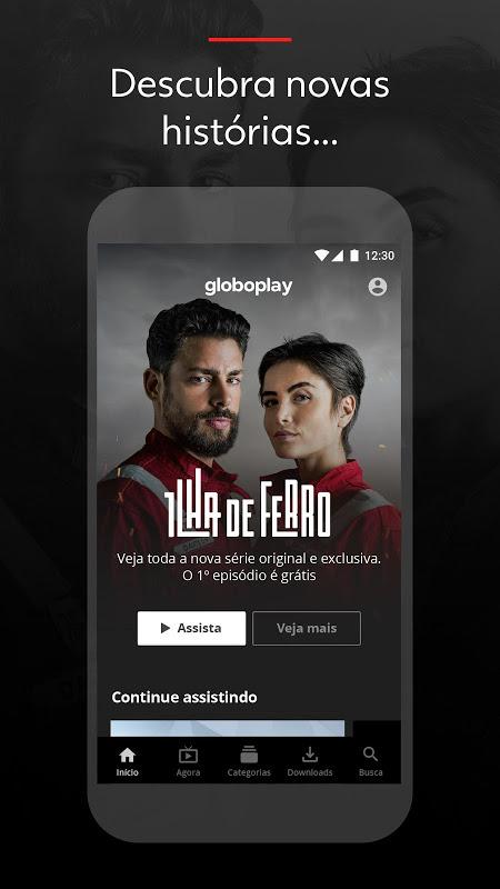 Globoplay screenshot 1