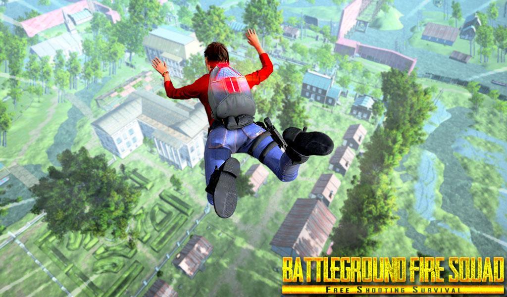 Battleground Fire Squad - Free Shooting Survival screenshot 2