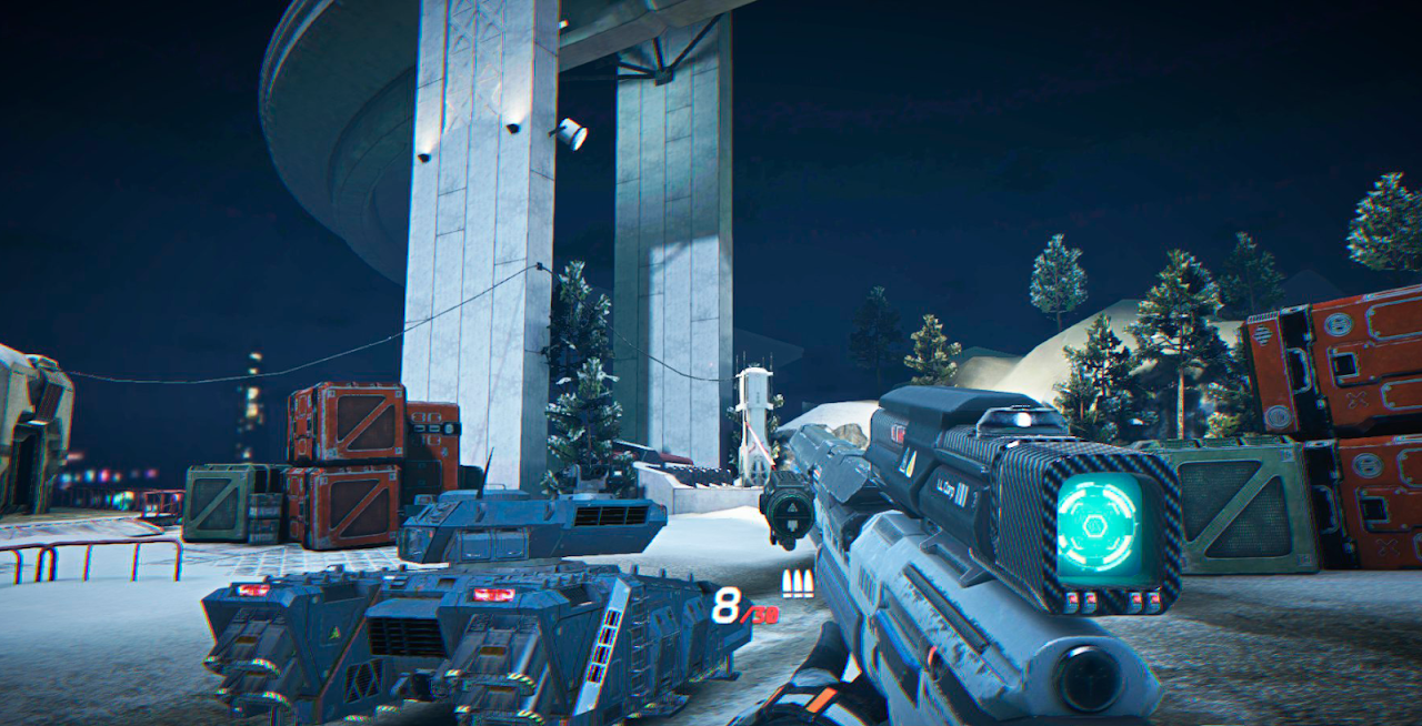 INFINITY OPS: Sci-Fi FPS screenshot 2
