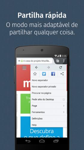 Navegador Firefox screenshot 3