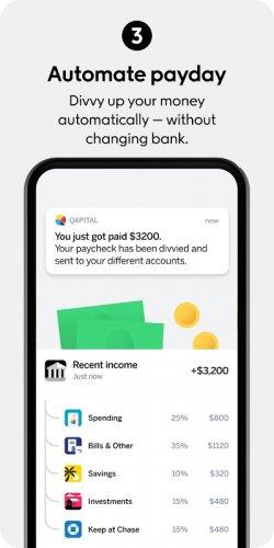 Qapital: Stretch or build emergency savings easily screenshot 1