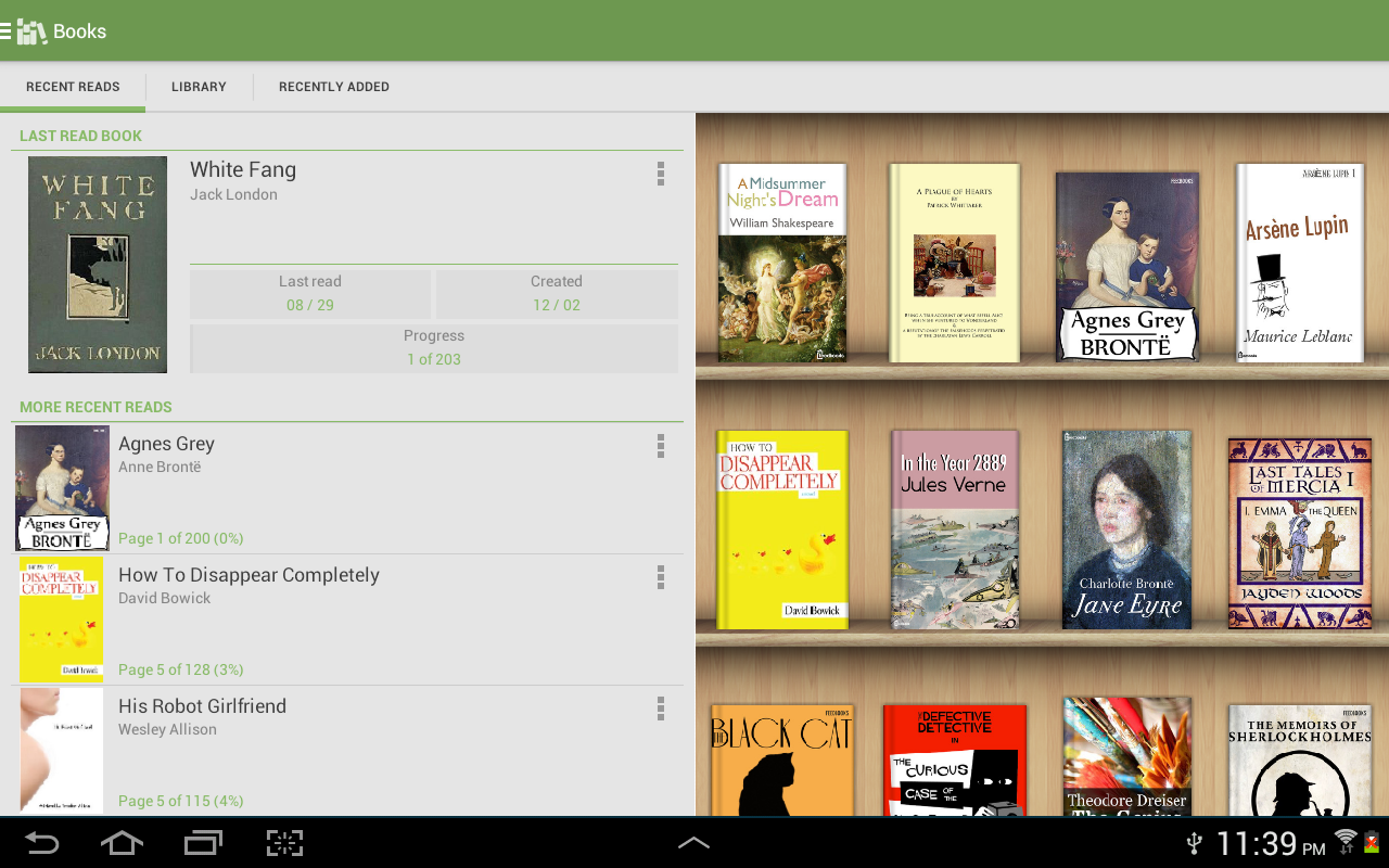 Aldiko Book Reader screenshot 1