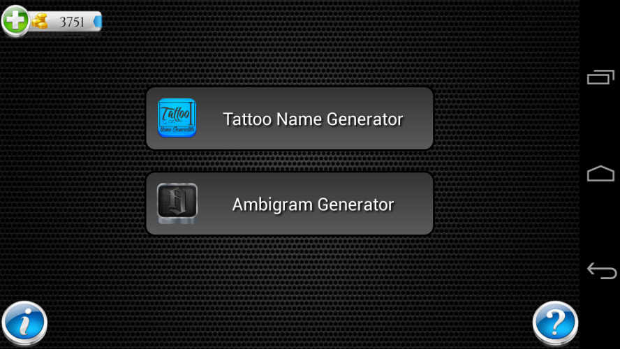 Tattoo Name Design Generator 7 04 Download Android Apk Aptoide Generate a tattoo idea with the random tattoo idea generator. tattoo name design generator 7 04