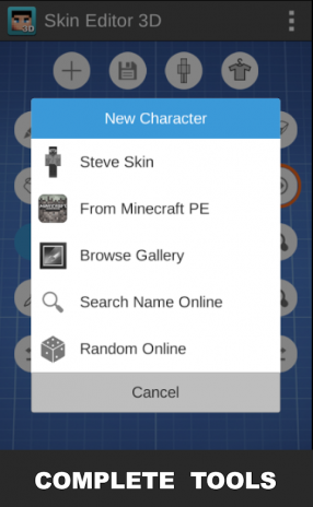 Skin Editor D For Minecraft Λήψη APK για Android Aptoide - Skins para minecraft 1 8 browse