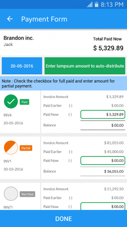 Simple Invoice Manager Download APK For Android Aptoide - Invoice simple apk