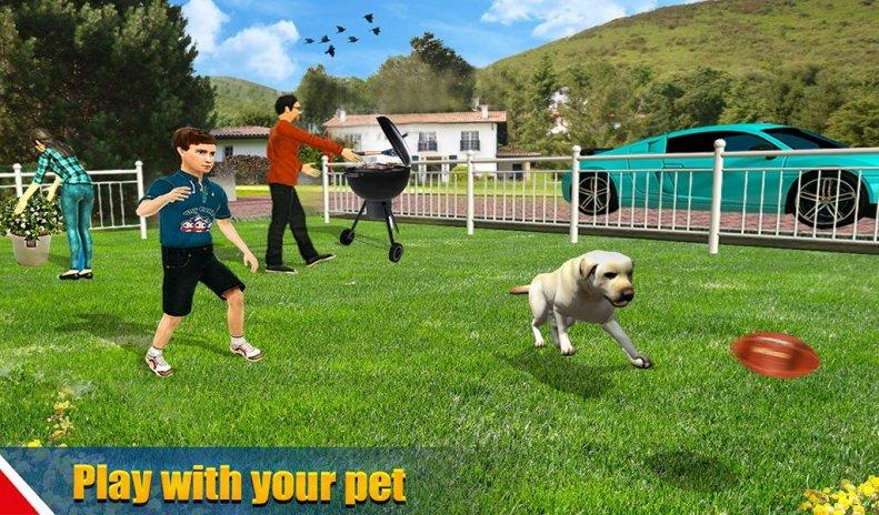 Virtual Dog Pet Cat Home Adventure Family Game Screenshot 14