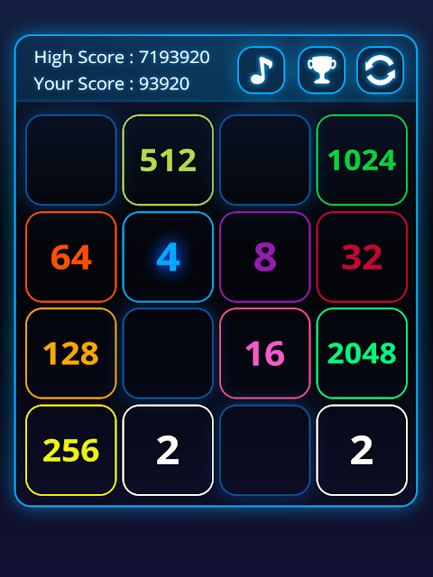 2048 Puzzle Amazing screenshot 1