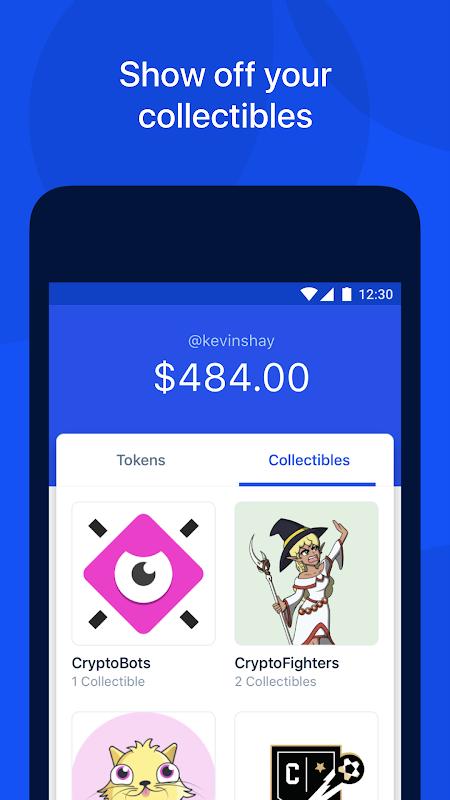Coinbase Wallet — Crypto Wallet & DApp Browser screenshot 2