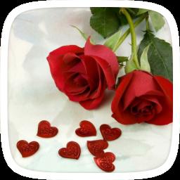 تحميل Apk لأندرويد آبتويد الحب وردة حمراء الموضوع100