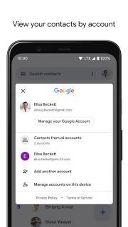 Contacts screenshot 9