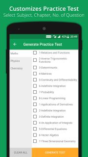 GUJCET MCQ 2018 Group-A screenshot 10